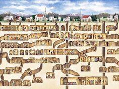 10 Mysterious Underground Cities - Derinkuyu