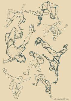 Quer aprender a desenhar mangás e ainda lucrar muito com os seus trabalhos? Aqui tem tudo o que você precisa para aprender a fazer desenhos profissionais e ganhar destaque no ramo! Para você que quer saber Como Desenhar Mangá, poderá aprender em casa com este conteúdo exclusivo e completo a fazer desenhos de qualidade, desde os traços até a finalização da pintura! Mesmo se você ainda não tem muita experiência... Drawing Body Poses, Body Reference Drawing, Gesture Drawing Poses, Action Pose Reference, Anime Poses Reference, Animation Reference, Sitting Pose Reference, Animation Storyboard, Reference Images