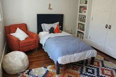 Great bedroom for boy of all ages by Caitlin Creer