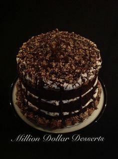 Chocolate Toffee Explosion Cake =)