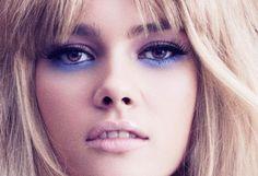 70s blue eyeshadow inspiration