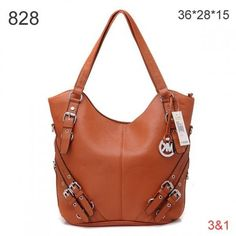 Michael Kors Shouder Leather Bags Brown Silver Hardware ,☭❈✿░ Comment For Ideas~! ☆‥★