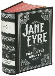 Jane Eyre (Barnes & Noble Leatherbound Classics Series)- Love this cover