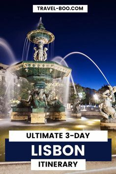 Ultimate 3 Day Lisbon Itinerary. Visiting Lisbon for 3-days? Check out our guide on what to see and do during your 3 day stay! #lisbontravel #lisbonportugal #lisbontravelguide | Lisbon Travel Guide | Lisbon Itinerary | Lisbon Travel Things to do | Lisbon Things to do | Lisbon Travel Tips | Portugal Travel Guides | Portugal Travel Tips Portugal Travel Guide, Europe Travel Guide, Spain Travel, Travel Guides, Travel Destinations, Lisbon Accommodation, Day Trips From Lisbon, Portugal Holidays, European Holidays