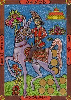 Kazanlar Tarot - 9 of Coins