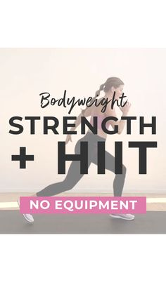 Fitness Workout For Women, Yoga Fitness, Health Fitness, Body Weight Hiit, Cardio, Tabata, Workout For Beginners, Sport, Workout Challenge