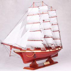 Denmark wood sailboat model, hand made, long Sailboat Craft, Sailing Ships, Denmark, Wood, Model, Woodwind Instrument, Timber Wood, Wood Planks