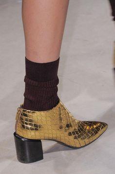 boots @ Maison Rabih Kayrouz Fall 2014