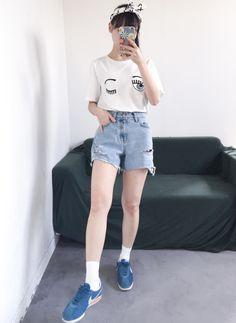 Korean Summer Fashion   여름패션                                                                                                             ...