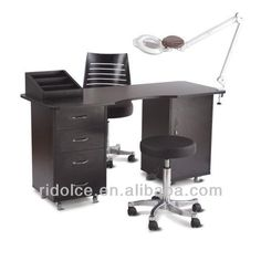 Mdf Melamin Nail Technician Tables Used Salon Equipment F 2030