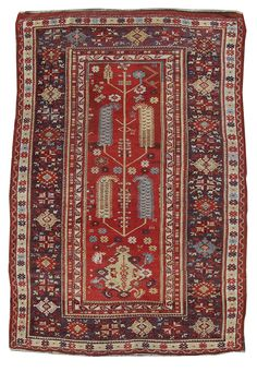 Antique rug, Melas, Turkey mid. 19th Cent.