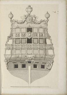 Jean Bérain (1640-1711) – Vaisseau: Le Furieux – Paris, Musée du Louvre
