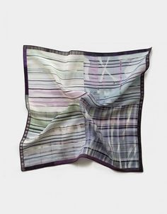 Pañuelo de bolsillo para caballero en tonos grises | Viva La Woolf