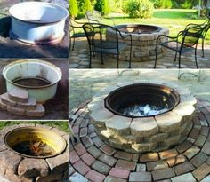 Tractor Rim Firepit