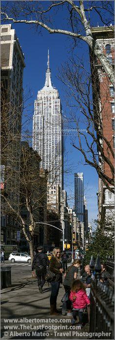 The Empire State, Broadway, Manhattan, New York. | By Alberto Mateo, Travel Photographer.