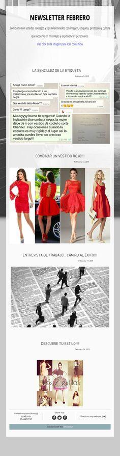 Newsletter de febrero Shopping, February, Culture, Tips, Viajes, Style