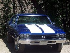My Dream Car!  69 Chevelle SS 396 big block.