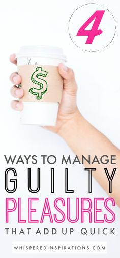 We all love to spend money. Those little purchases can add up quickly! Check out these tips for managing those financial guilty pleasures.