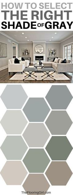 Tips to picking the perfect gray paint. #gray #paint