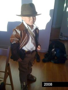 Dress your little adventurer as Indiana Jones. | 26 Halloween Costumes For Toddlers That Are Just Too Cute To Believe