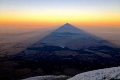 #sunrise from the top of pico de orizaba