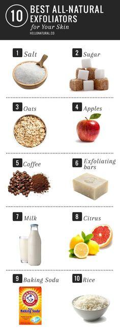 10 Best All-Natural Exfoliators for Skin