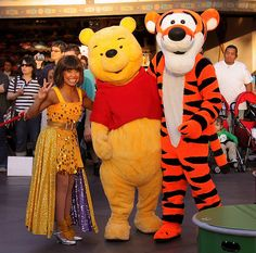 Celebrate! A Street Party: Dancer, Winnie the Pooh, Tigger | by armadillo444