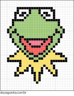 cross stitch pattern for sesame street - Google Search