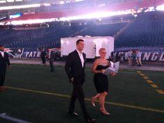 Tom Brady at tonight's Patriots Kickoff Gala called the Patriots Premiere. #WBZ