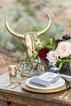 wedding place settin