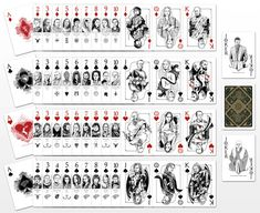 Game of Thrones Inspired Playing Cards Complete