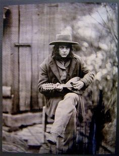 Jack White as Georgia in Cold Mountain.  Movie written and directed by Anthony Minghella, adapted from the beautiful book by Charles Frazier.
