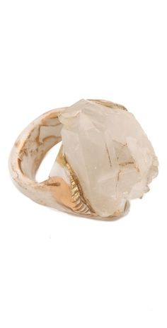 Adina Mills quartz ring