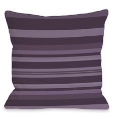 Caroline Stripes Throw Pillow