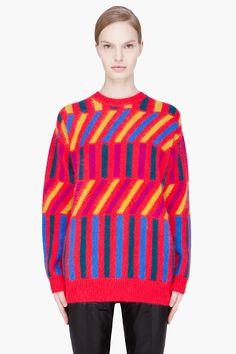 bright sweater! <3