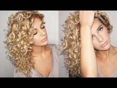 Curly Hair Tutorial with Curly Hair Solutions - Veronica Meza - YouTube