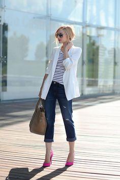 Ideias de looks com jeans.