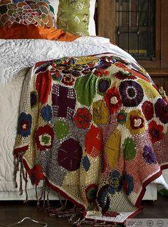 crochet blanket | Flickr - Photo Sharing!