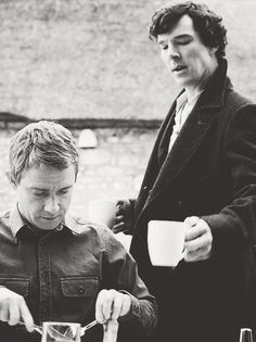 I wonder if John ever trusted Sherlock alone with his coffee again.