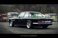 Behind H&R – Christian Heine's BMW E9 3.0 CSi - Stanceworks.com.