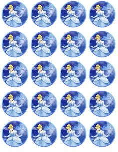 Ballerina Birthday Parties, Cinderella Birthday, Mickey Mouse Birthday, 6th Birthday Parties, Girl Birthday, Easy Christmas Crafts, Simple Christmas, Baby Shower Cupcake Toppers, Princess Tea Party