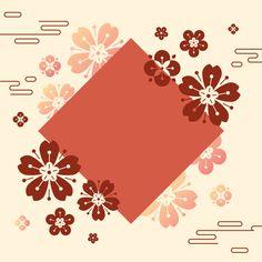 Chinese new year mockup illustration Free Vector Chinese New Year Design, Japanese New Year, Chinese Patterns, Japanese Patterns, New Year Illustration, Chinese New Year Greeting, Chinese Festival, New Year Designs, New Years Poster