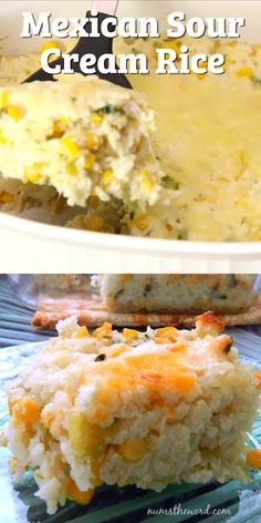 *VIDEO* Mexican Sour Cream Rice - This easy and delicious side dish is the perfe. - *VIDEO* Mexican Sour Cream Rice – This easy and delicious side dish is the perfect compliment to - Rice Side Dishes, Vegetable Side Dishes, Side Dishes Easy, Side Dish Recipes, Food Dishes, Dinner Recipes, Sour Cream Recipes Dinner, Spanish Side Dishes, Pasta Primavera
