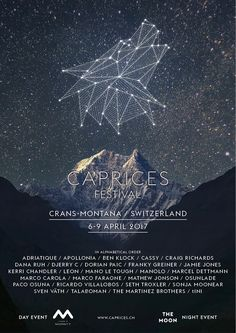 Caprices Festival announces full lineup: Caprices Festival announces full lineup inc. Mathew Jonson, Craig Richards, Sonja Moonear, Kerri…