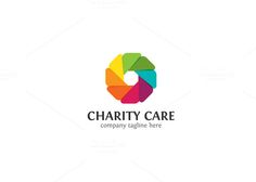 Charity Care Logo by XpertgraphicD on Creative Market