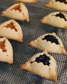 Celebrate Purim! Hamantaschen with poppy seed and apricot filling