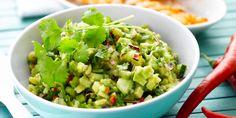 Salsa met avocado