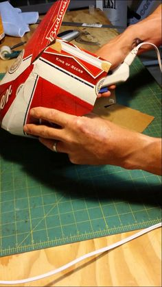 How to make a beer box cowboy hat. So funny!!