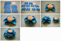 More Paper Flowers!