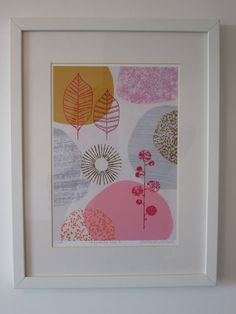Nature No7 limited edition giclee print by EloiseRenouf on Etsy